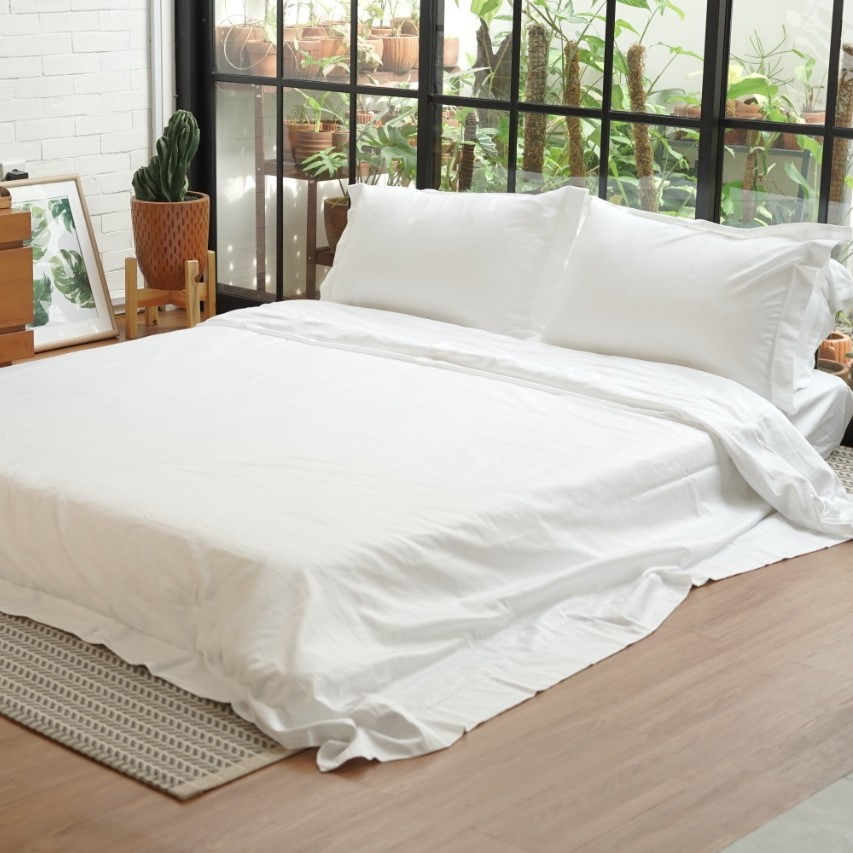 Premium Cotton Plain - Bedding Set