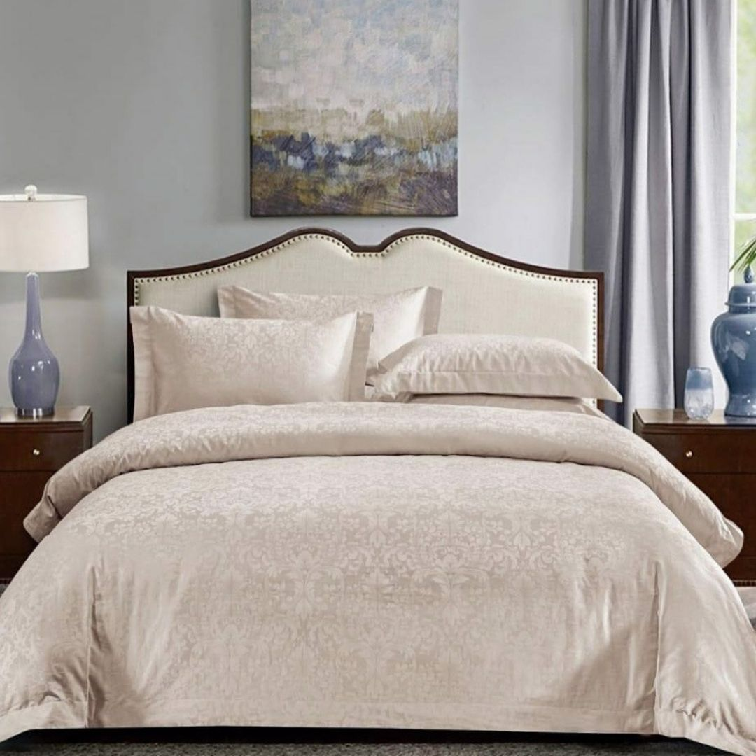 Creme - Premium Cotton Bedding Set