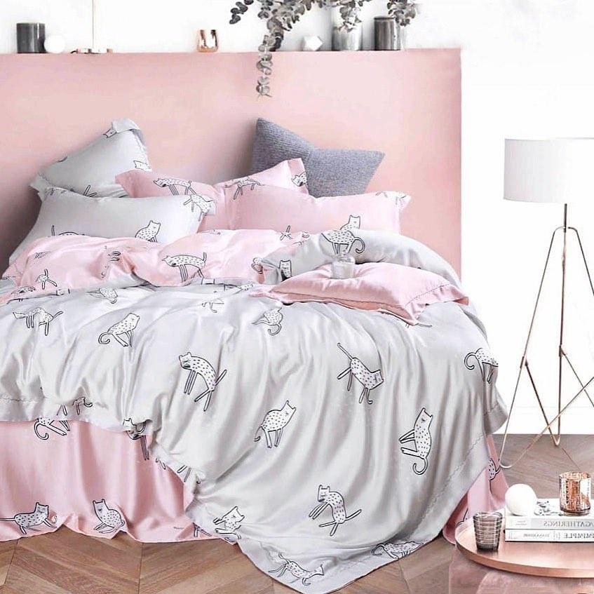 Fancy Cat - Tencel Bedding Set