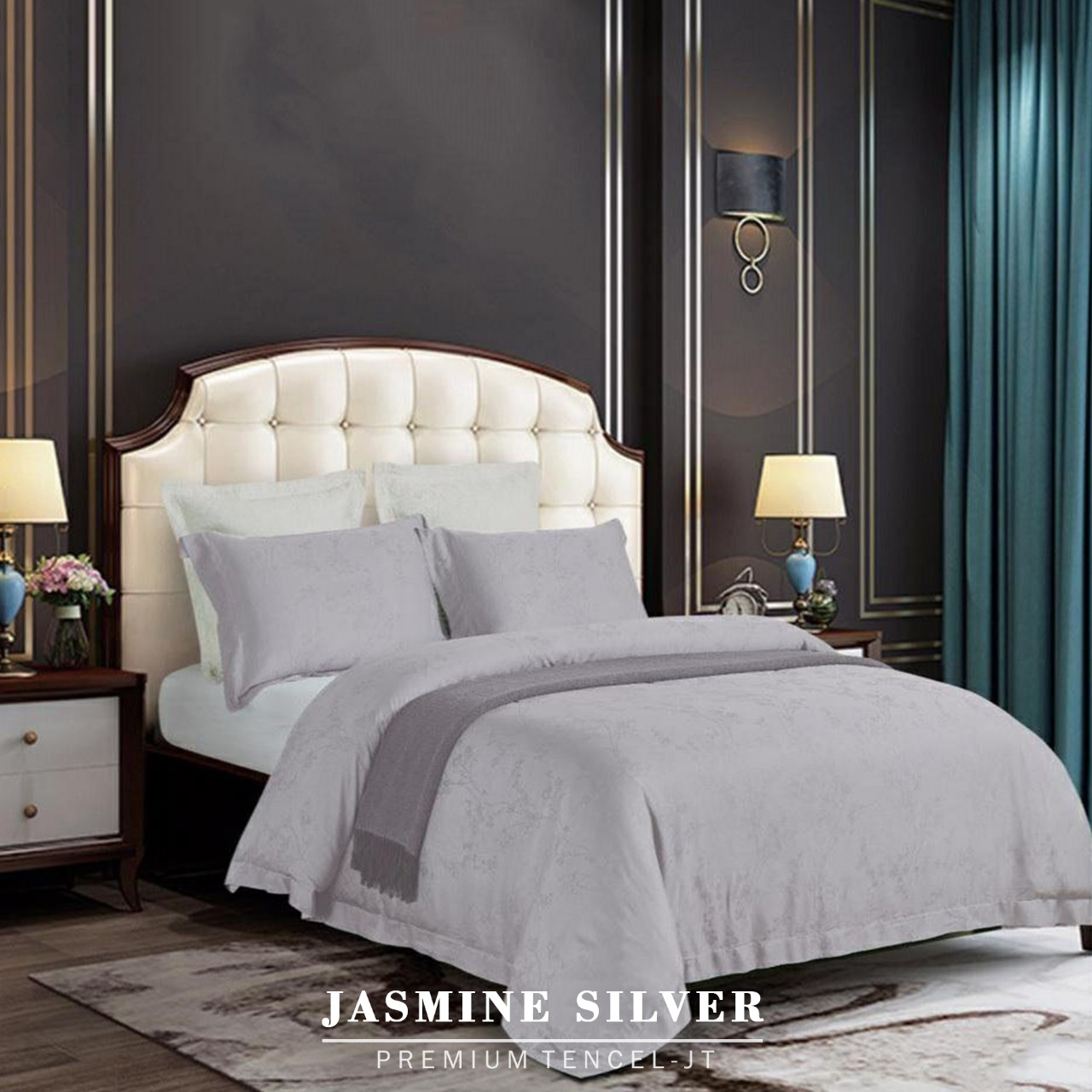 Jasmine - Premium Tencel Bedding Set