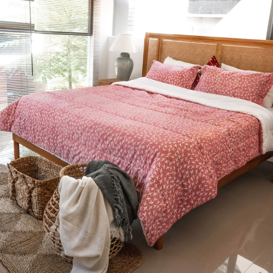 Jatayu Jambon  - Batik Series Bedding Set