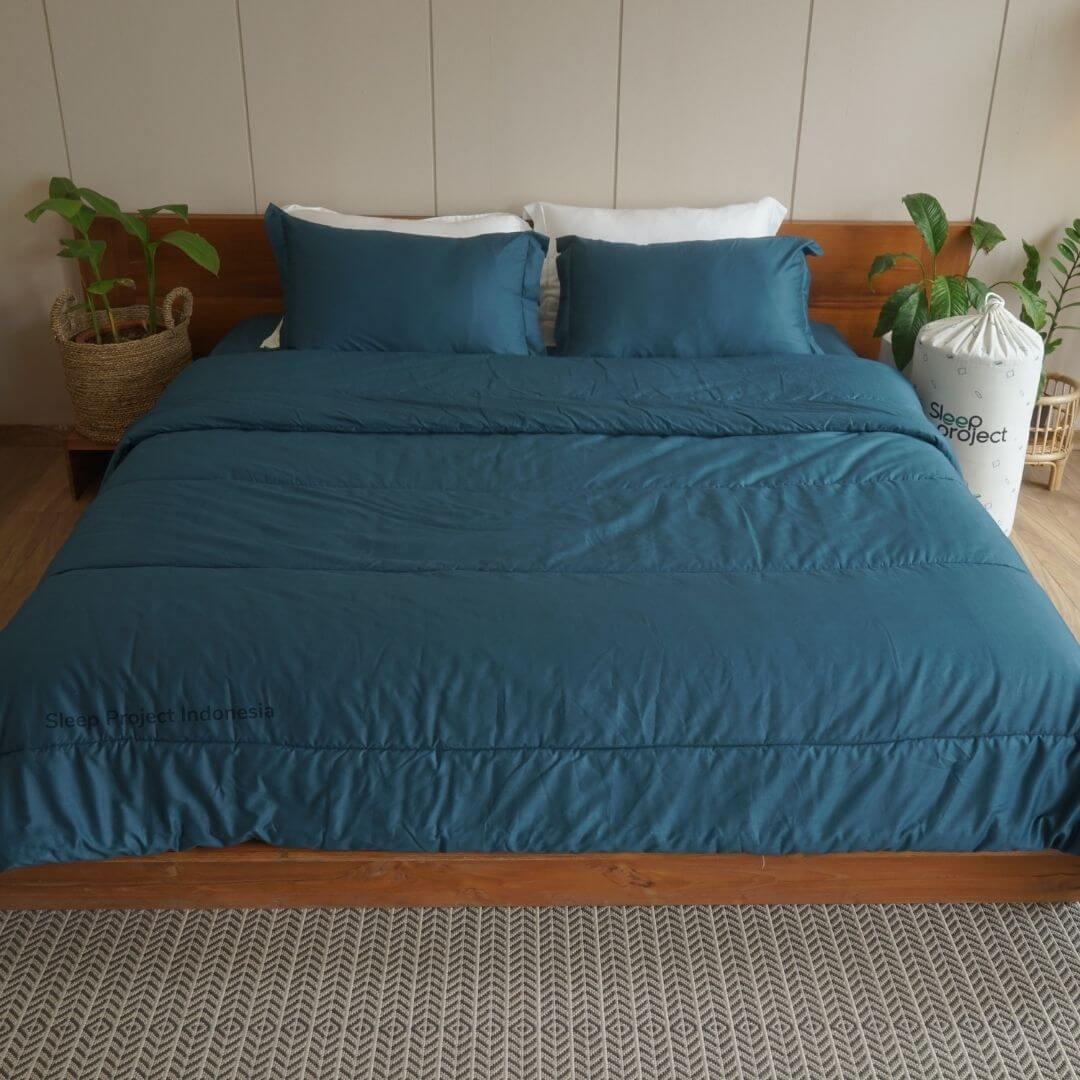 Organic Cotton Plain - Bedding Set