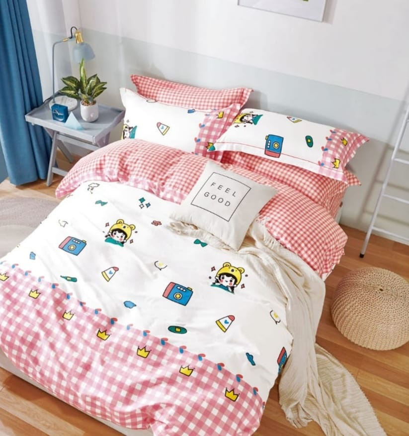 Sina - Organic Cotton Bedding Set