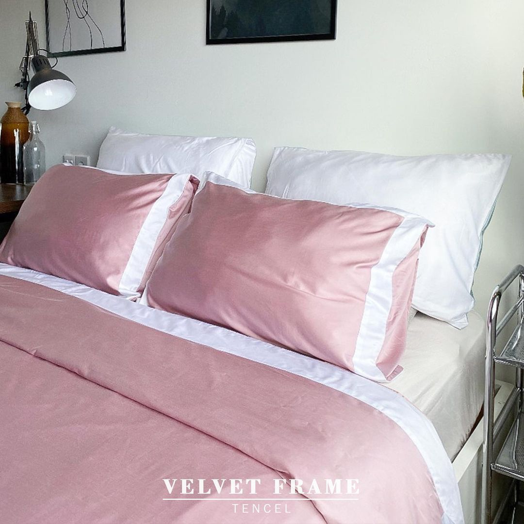 Velvet Frame - Tencel Bedding Set